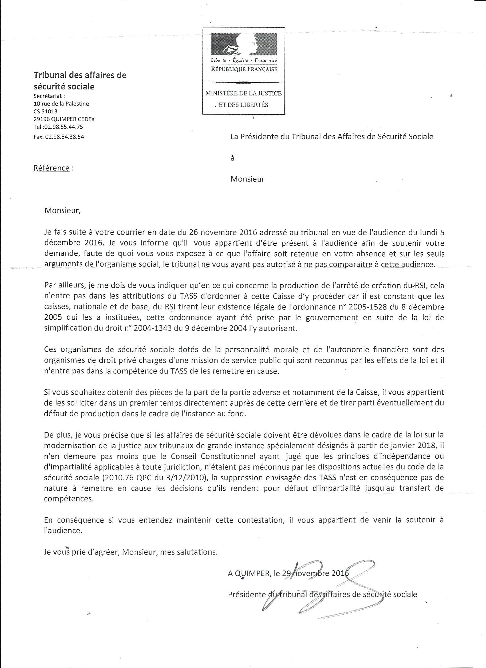 Le Rsi A Perdu Sa Marque Compte Rendu Tass De Quimper Syndicat