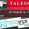 TALESS attaque le RSI pour CONTREFACON