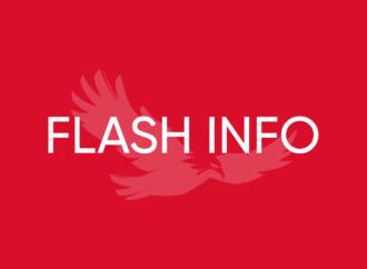 FLASH INFO TASS de BOURGES ce jour à 14h